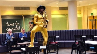 Black Epic Sax Guy