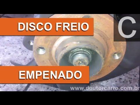 Dr CARRO DISCO FREIO EMPENADO
