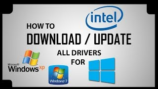 How to update / Download any driver for WINDOWS XP/7/8/10 in any computer/laptop