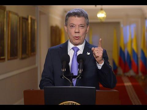 Alocución del Presidente Santos, sobre la situación en la frontera con Venezuela  - 1° de septiembre