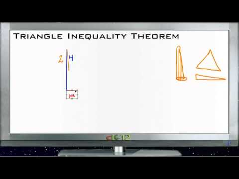 Triangle Inequality Theorem Principles - Basic