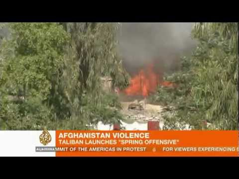 Afghan Taliban launch 'spring offensive'