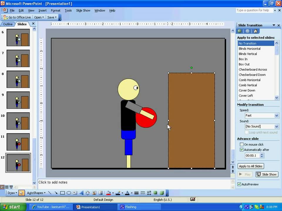 Как сделать время на анимацию