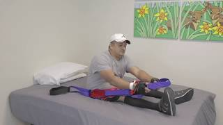 Home Exercise for Spinal Cord Injury: Calf Stretch