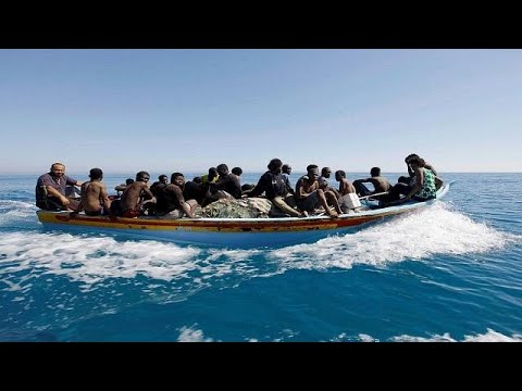 Libya: 128 Rescued Migrants Off The Coasts [no Comment]