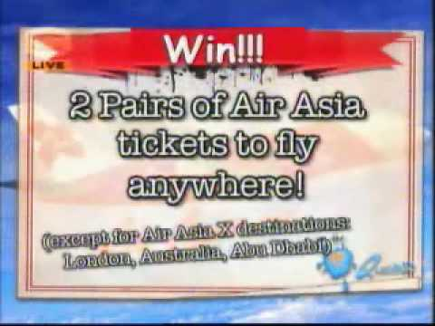 8TV Quickie Hangtime with Air Asia