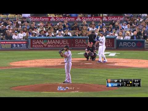 MLB 2015 01 Sept Los Angeles Dodgers vs San Francisco Giants