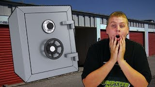 DRUGS FOUND IN LOCKED SAFE IN STORAGE UNIT! I Bought An Abandoned Storage Unit!