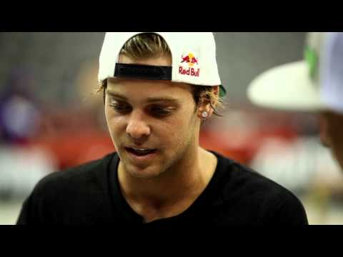 Street League 2012: Street League Firsts Interview with Ryan Sheckler Presented by Chevy Sonic