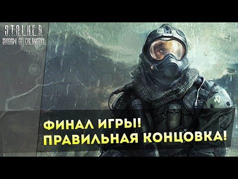 ФИНАЛ ИГРЫ! ПРАВИЛЬНАЯ КОНЦОВКА! S.T.A.L.K.E.R.: Тень Чернобыля!
