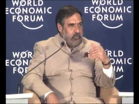 India 2012: Davos Conversation with Anand Sharma