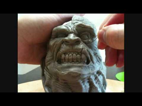 Angry Man   HULK : Sculpting Part 2