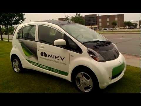 Электрический автомобиль 2012 Mitsubishi Electric Car !.mp4