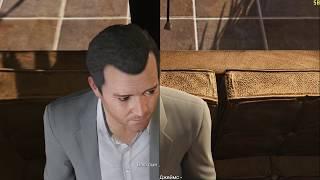 GTA V Эволюция графики PS3 vs PC