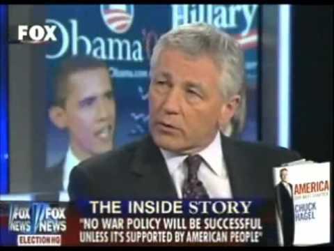 "Chuck Hagel: ""I'm a United States Senator, not an Israeli Senator"""
