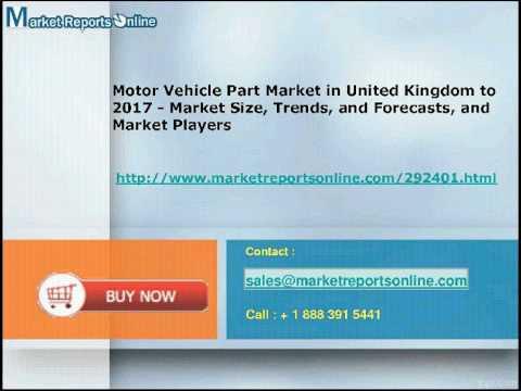 MRO: United Kingdom Motor Vehicle Part Industry Analysis & 2017 Forecasts