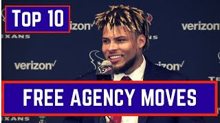Top 10 NFL Free Agency Moves 2018
