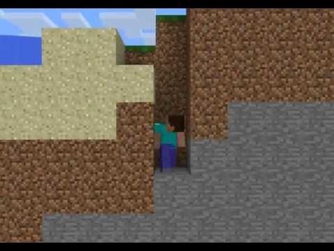 Minecraft รีวิว 2D Craft Mod 1.3.2 [HD]