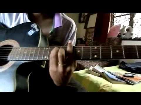 nile nile ambar par chand jab aaye guitar 1st nd 2nd part
