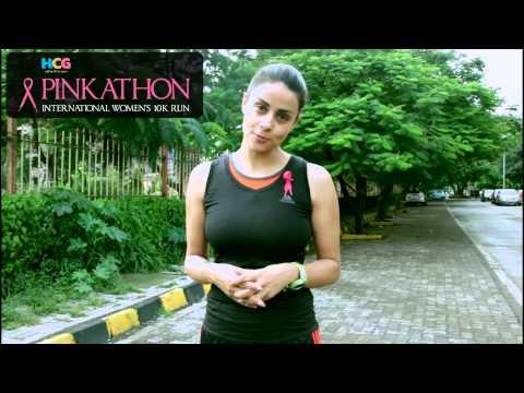 Pinkathon Delhi 2013 Teaser - Gul Panag video