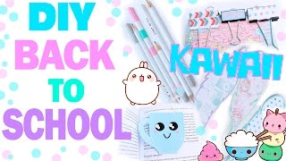 DIY Back to School * Канцелярия в стиле Kawaii * Bubenitta