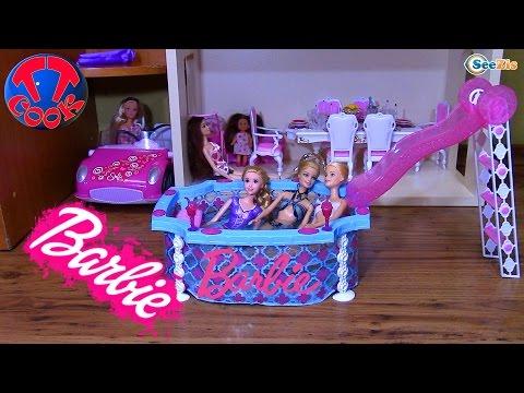 Как сделать бассейн для кукол барби