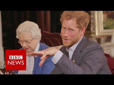 "The Queen vs The President: ""Boom"" - BBC News"