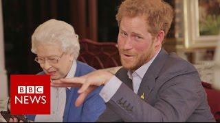 "The Queen vs The President: ""Boom"" - BBC News"