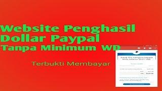 Website dollar gratis tanpa minimum withdraw 9.58 MB
