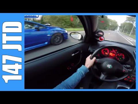 Alfa Romeo 147 1.9 JTD 272 HP OnBoard vs 2015 Subaru WRX STI