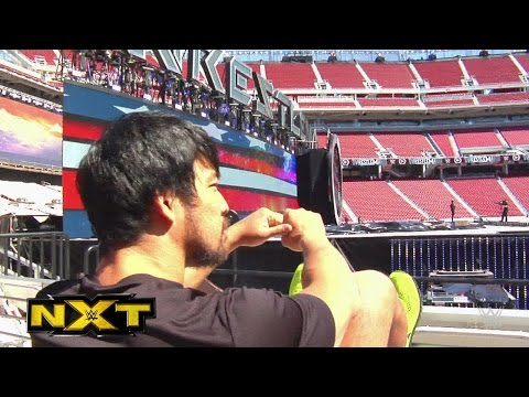 A Special Look At Hideo Itami's Wrestlemania Debut: Wwe Nxt, April 8, 2015 video