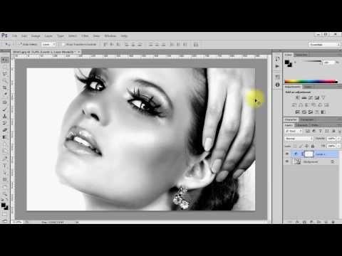 Как сделать черно белую фотографию в photoshop