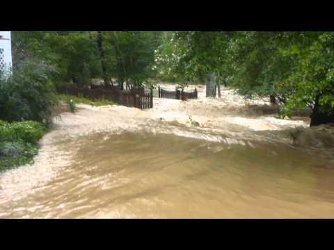 Clifton Flood PopesHead Creek Bridge Mainsteet Clifton