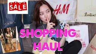SHOPPING HAUL February 2019 (ZARA Sale Haul + Try-On)