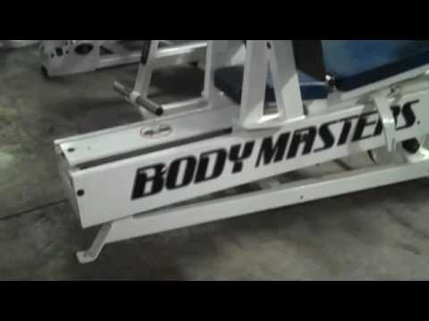 Used Bodymasters Super Horizontal Leg Press For Sale