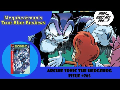 Let's Review Sonic The Hedgehog #265!