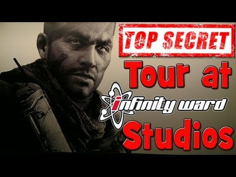 Best weekend ever!! Top Secret tour of the new Infinity Ward studios and COD Championships