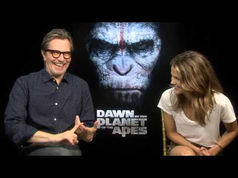 Dawn of the Planet of the Apes - Gary Oldman and Keri Russell interview