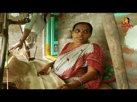 Natural Colors Kalamkari Designs : Polavaram Handlooms - Krishnamma Sogasulu | Pushkaralu Special
