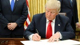 Trump Signs Executive Order, Warning US Agencies To Step AI Research