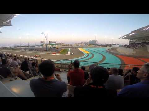 F1 Abu Dhabi - Dubai 2014 : GoPro HERO3+ black