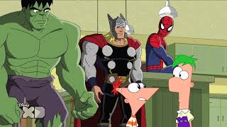 Avengers - Phineas and Ferb - Mission Marvel - Part 1