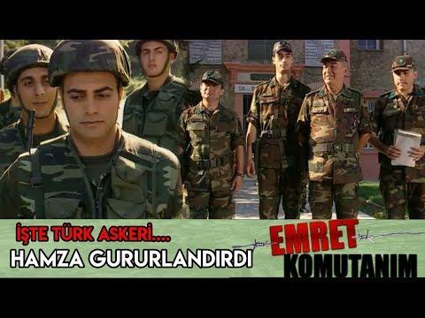 HAMZA ÖYLE BİRŞEY YAPTI Kİ, ALBAY ÖDÜLLENDİRDİ - Emret Komutanım