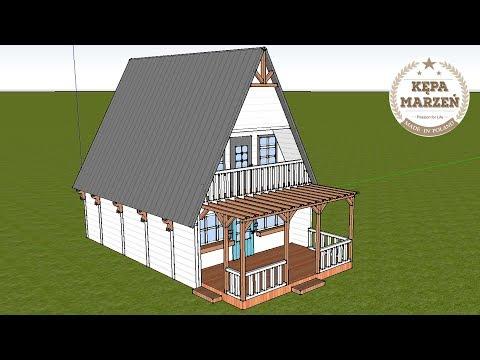 Ep.5 | Projekt Zewnętrzny Chatki Marzeń | Metamorfoza Domku Letniskowego