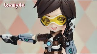 Clay Figure Tutorial?DIY?Overwatch Tracer?Lovely4u V7