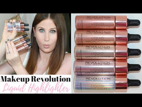 Makeup Revolution Liquid Highlighter | Cover FX Dupes??