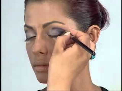Smoky Eyes. Арабский макияж. Часть 1.