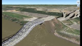 Гнутые мосты Google Earth