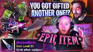 SOMEONE GIFTED ME AN EPIC ITEM?! - FT. 72HRS
