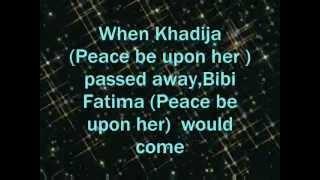 A Hadith of Bibi Fatima Zehra (Salmullah Alaiha )**Kaniz-e-Reza***